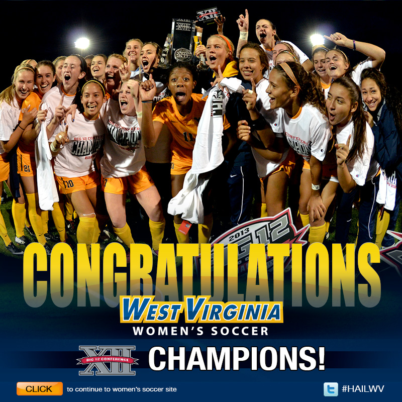 Women's Soccer Big 12 American Division Champions
